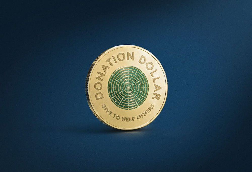 Body image for Australia mints 'Donation Dollar' to boost pandemic giving