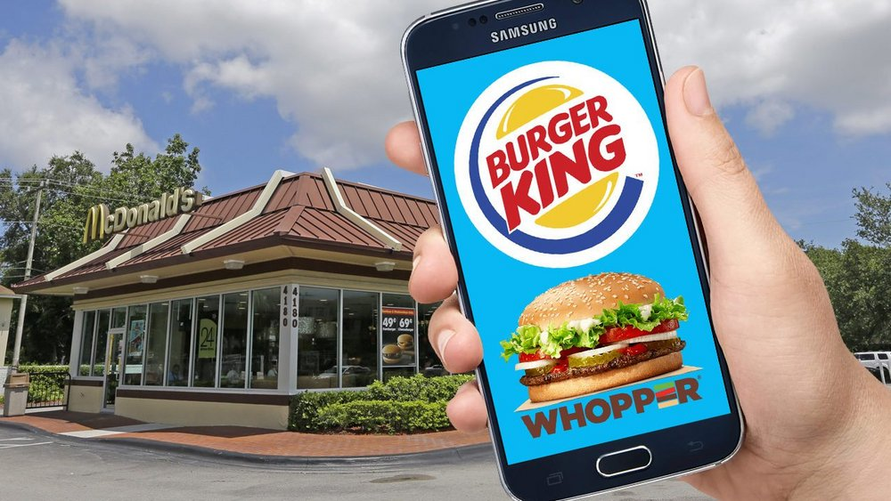 Body image for The strategy behind Burger King's Whopper Detour campaign