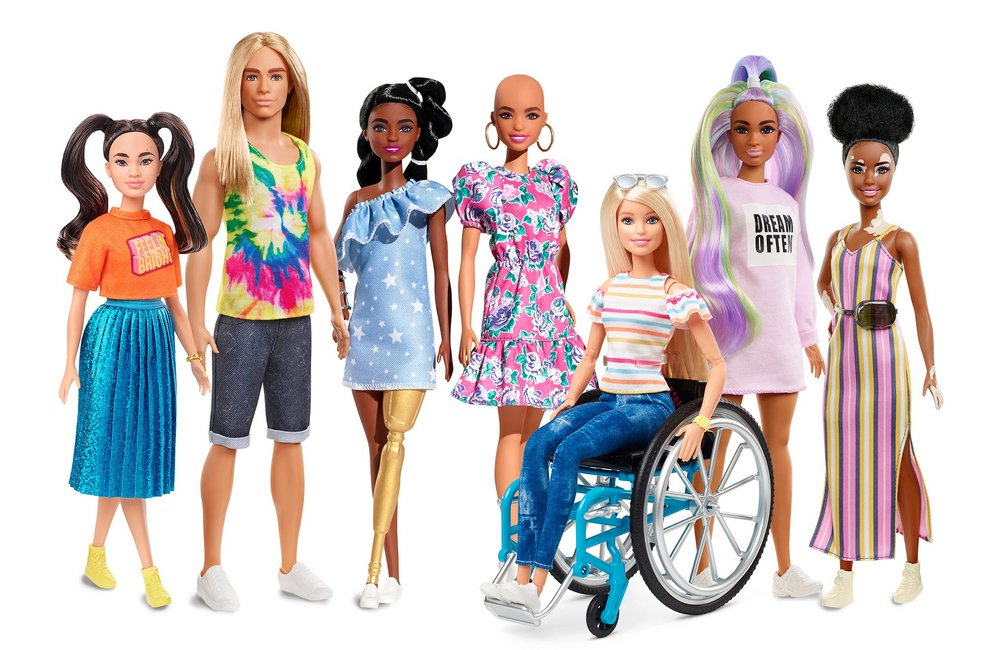 Body image for Watch: Barbie's diversity and empowerment makeover explained