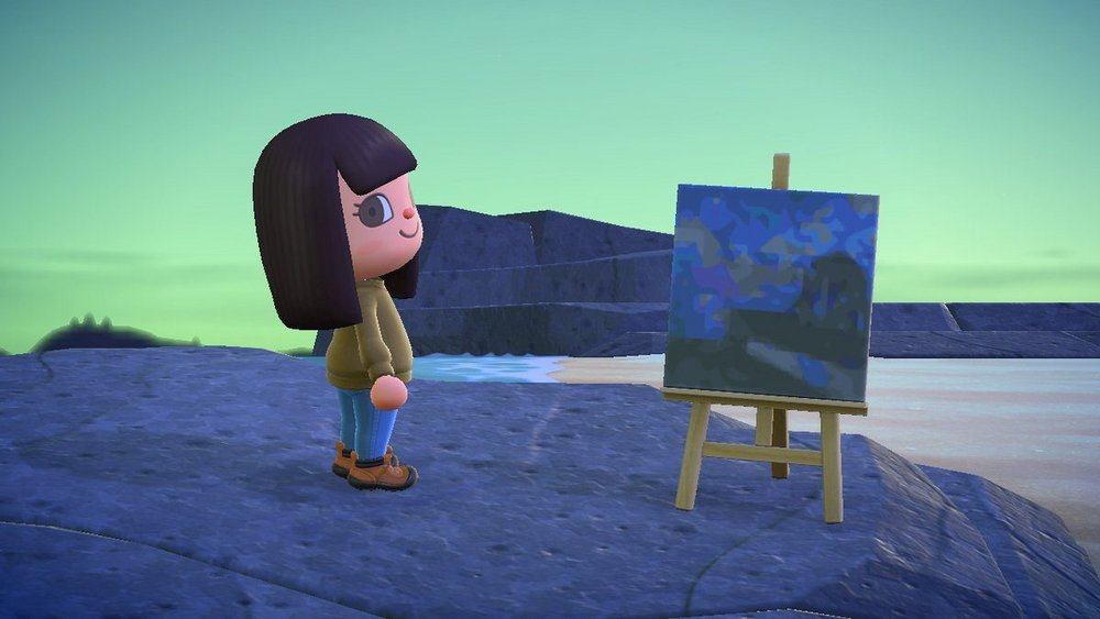 Body image for Getty Museum loans iconic artworks to Animal Crossing