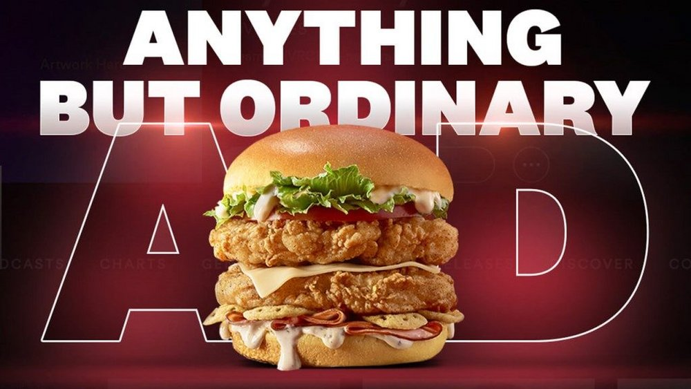 Body image for KFC sandwich artists sidestep Spotify Premium ad ban