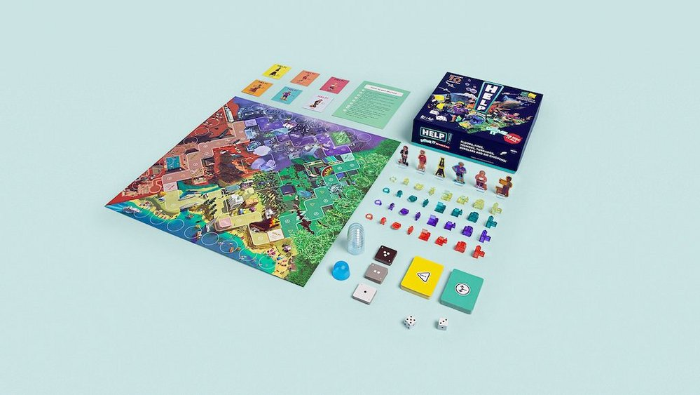 Body image for Insurer creates board game to teach the importance of good coverage