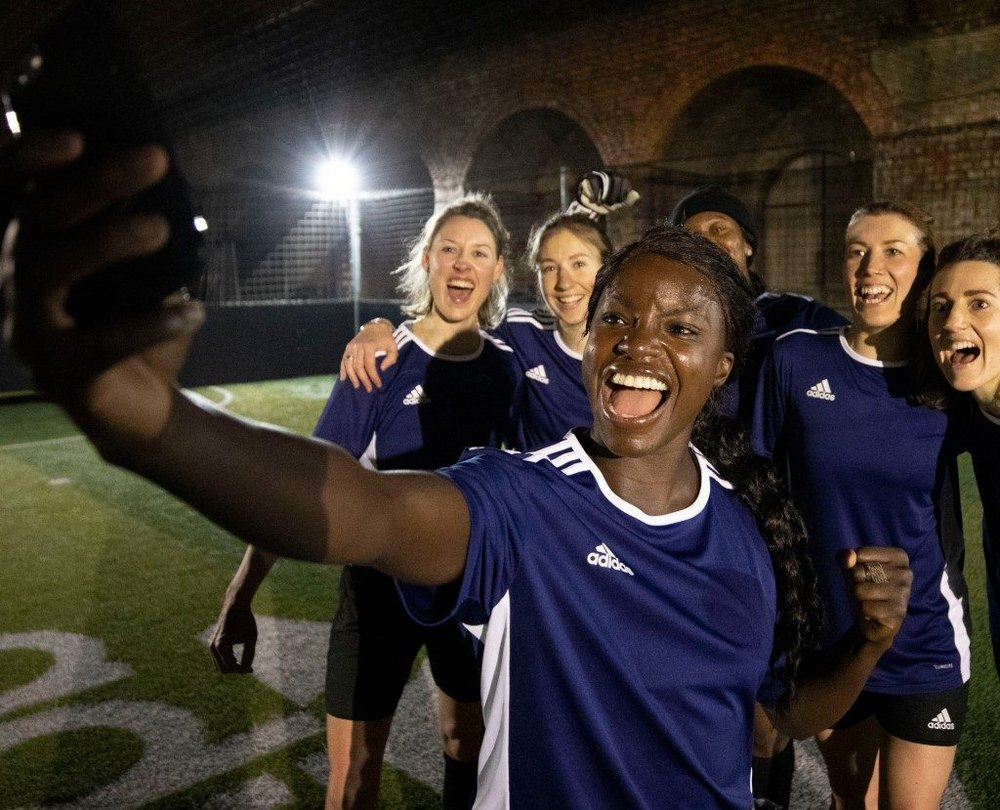Body image for Adidas promotes Predator boots with rent-a-ringer WhatsApp stunt