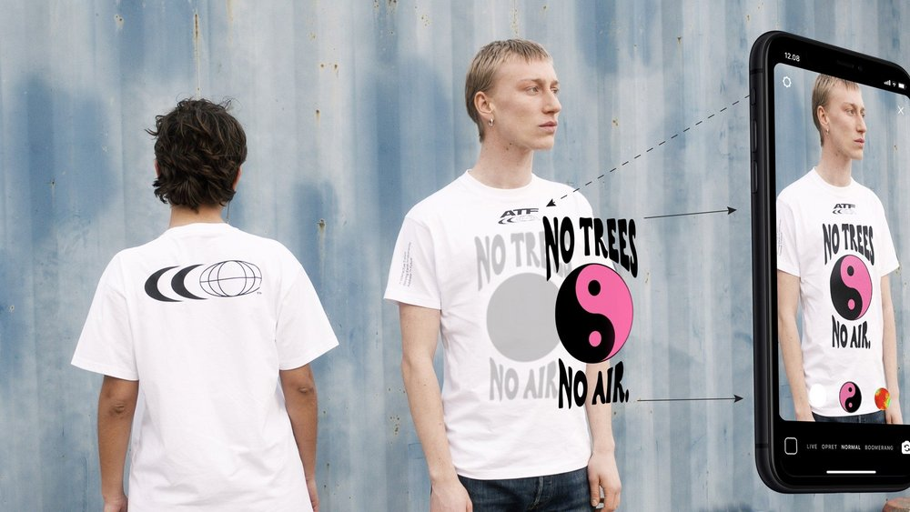 Body image for Carlings makes AR shirt for eco-and-style-conscious protest generation