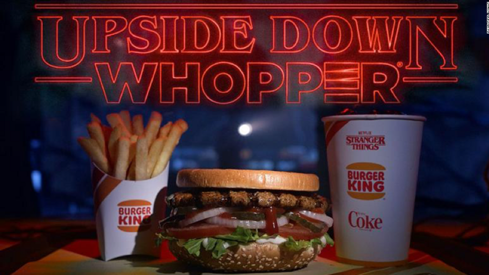 Burger King x Stranger Things Season 3