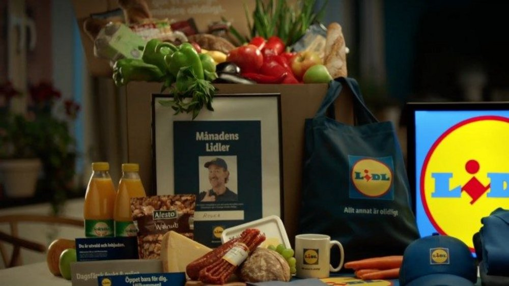 Body image for Lidl infiltrates Swedish homes with free food and branded merchandise