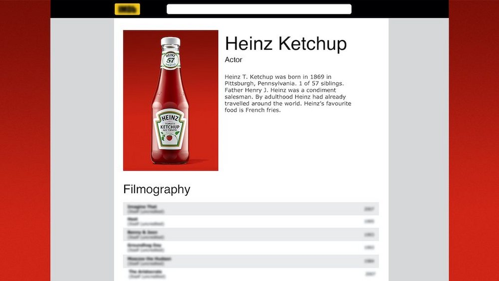 Body image for Heinz claims credit for ketchup cameos