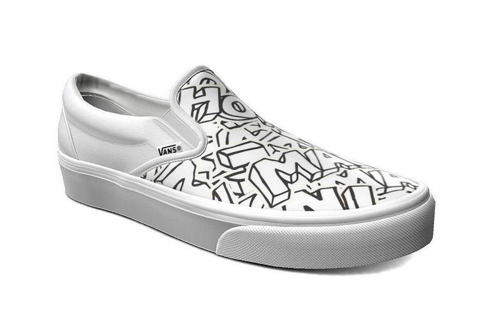 customize vans shoes online