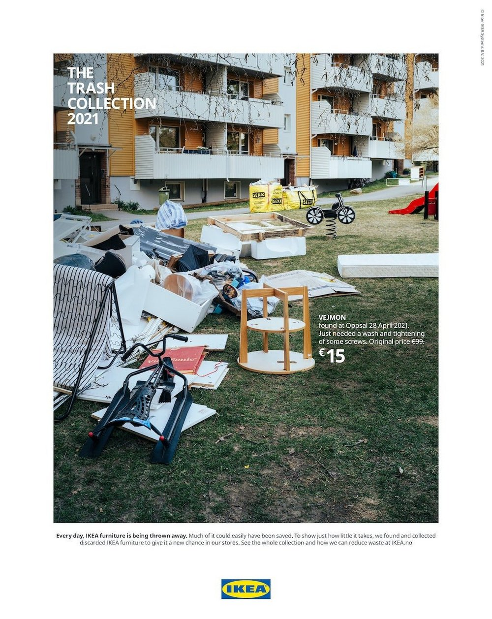 Body image for Ikea heroes junked furniture in sustainability campaign