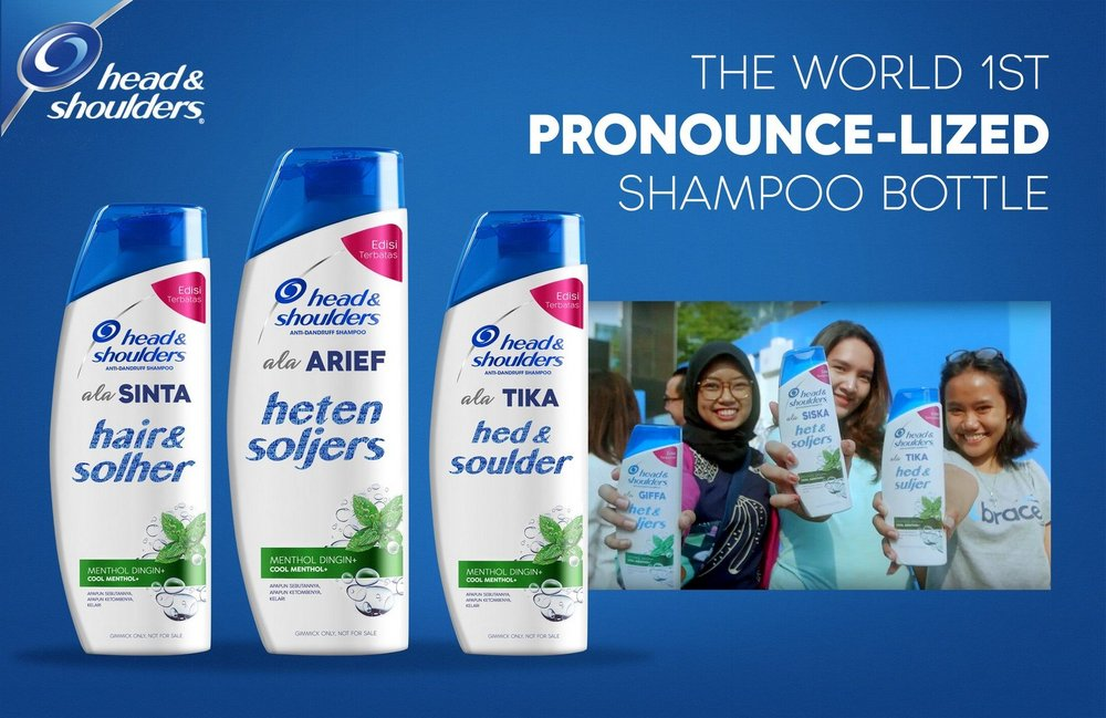 Body image for Head & Shoulders mangles its own brand to boost sales in Indonesia
