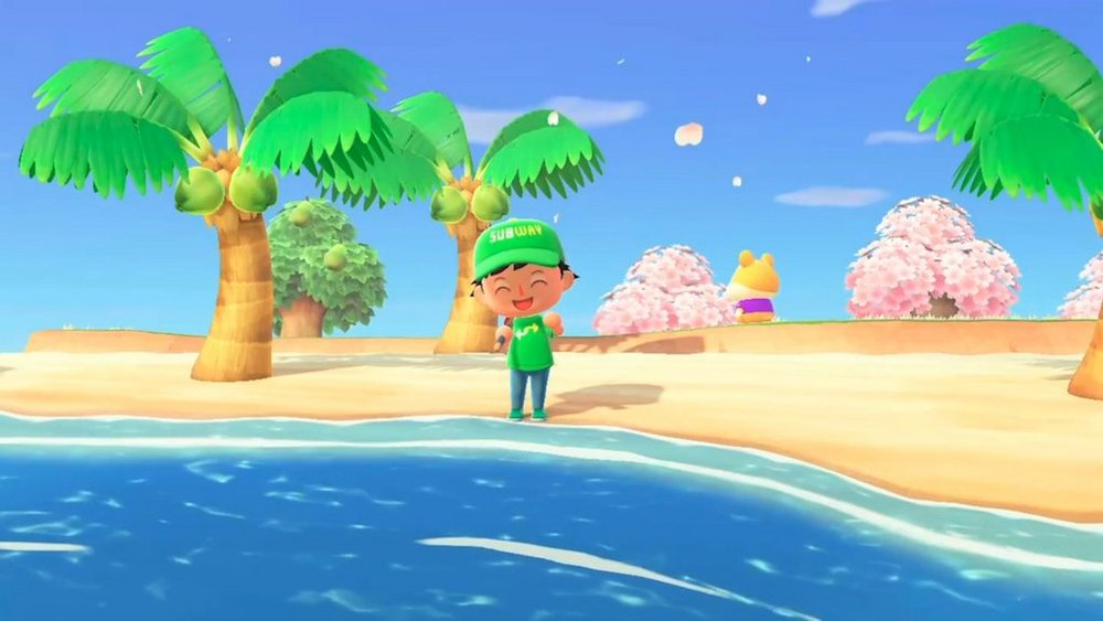 Body image for Subway counters damaging tuna lawsuit with Animal Crossing promo