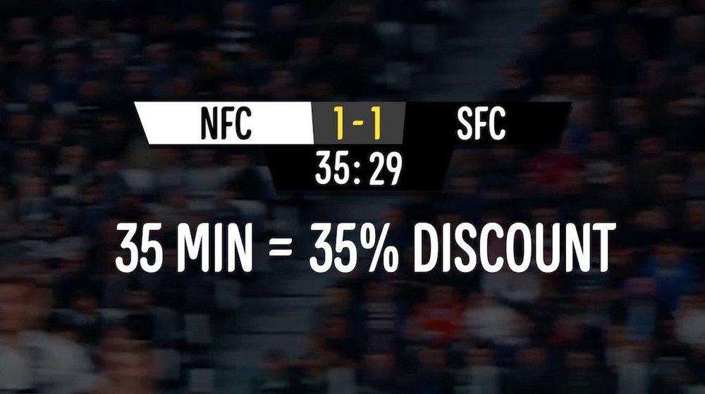 Body image for Danish retailer turns Premier League VAR calls into discounts