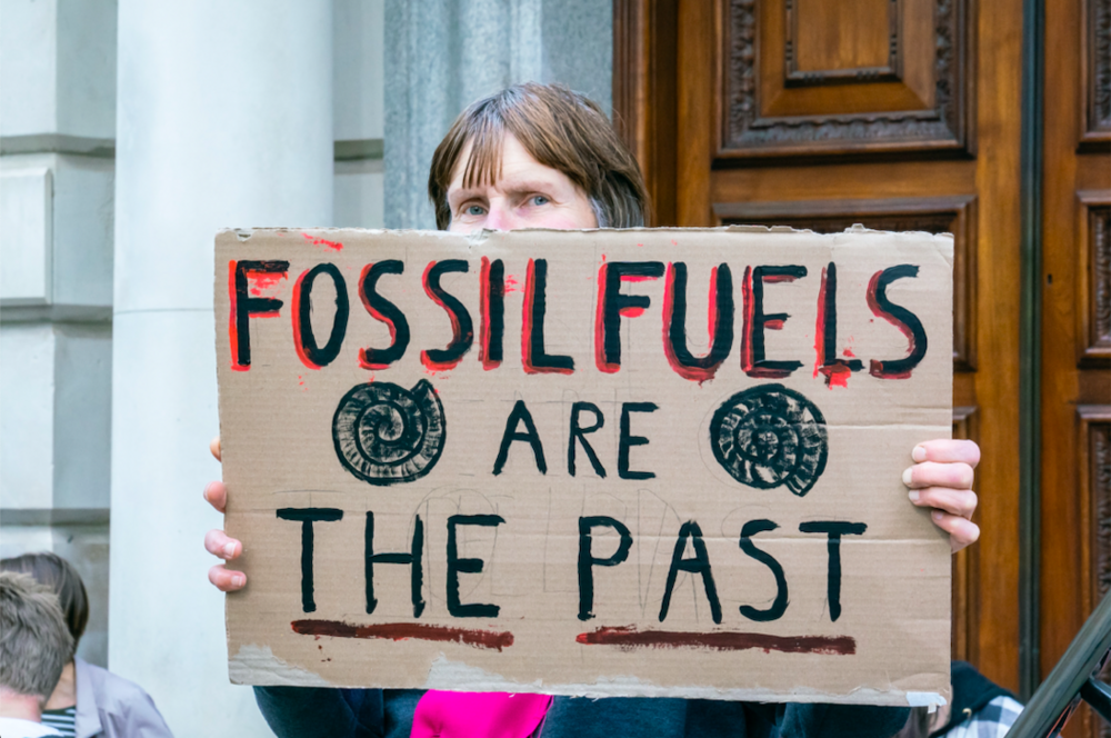 Body image for Extinction Rebellion on activism, optimism, emergencies and urgency