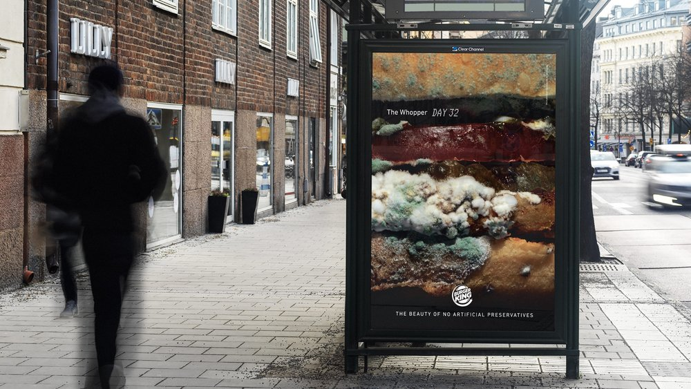 Body image for For and against Burger King's mouldy Whopper ad