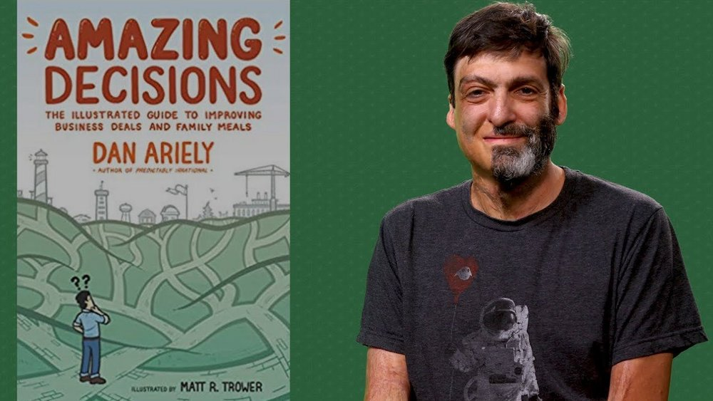 Body image for Behavioural economist Dan Ariely talks brands and bad decisions with Contagious