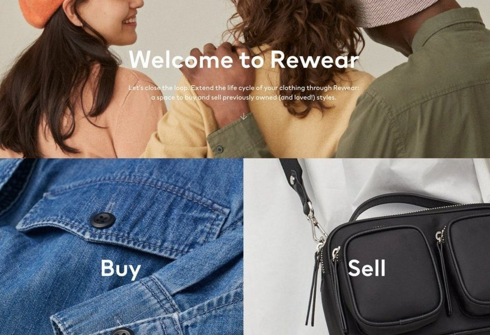 Body image for H&M unveils second-hand clothing website