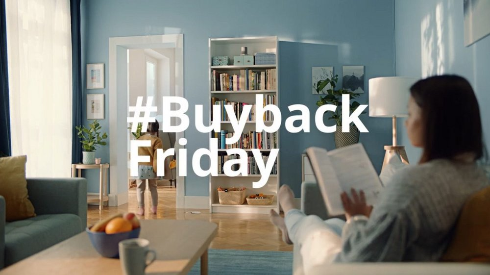 Body image for Ikea buys back old furniture for sustainable Black Friday campaign