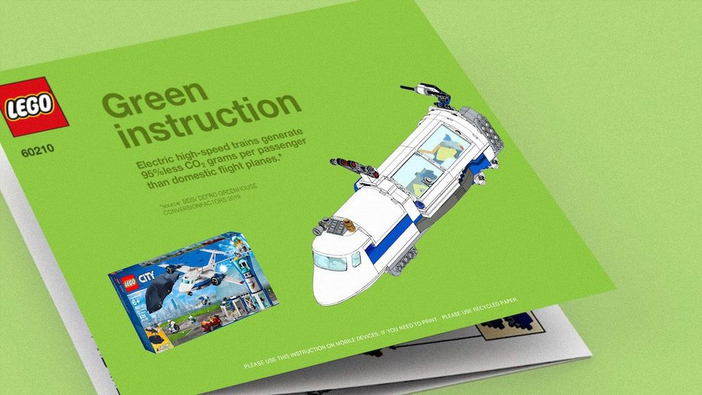 Body image for Lego releases Green Instructions for eco-friendly model making