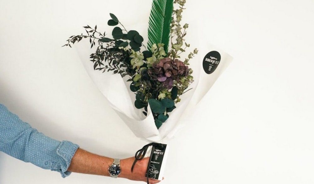 Body image for Florist creates 'bouquets for men' for mental health campaign