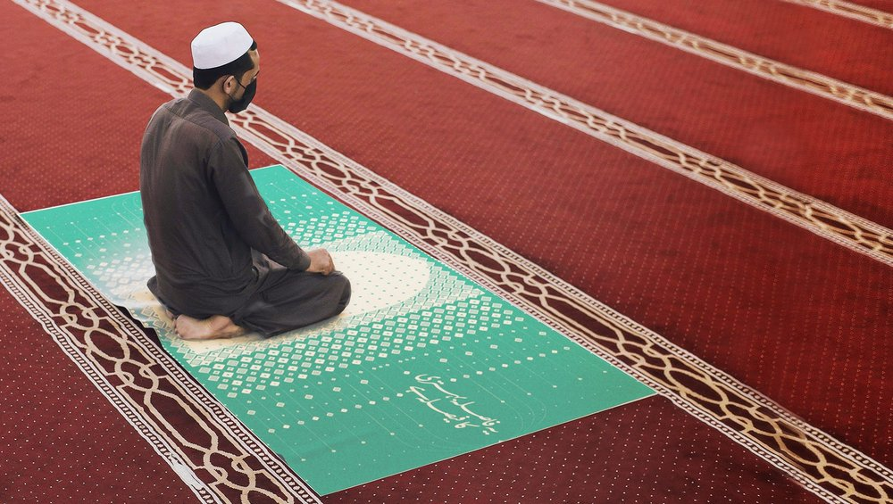 Body image for Dettol Pakistan creates pandemic prayer mat