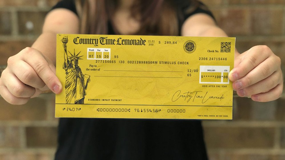 Body image for Country Time bails out lemonade stands with stimulus checks