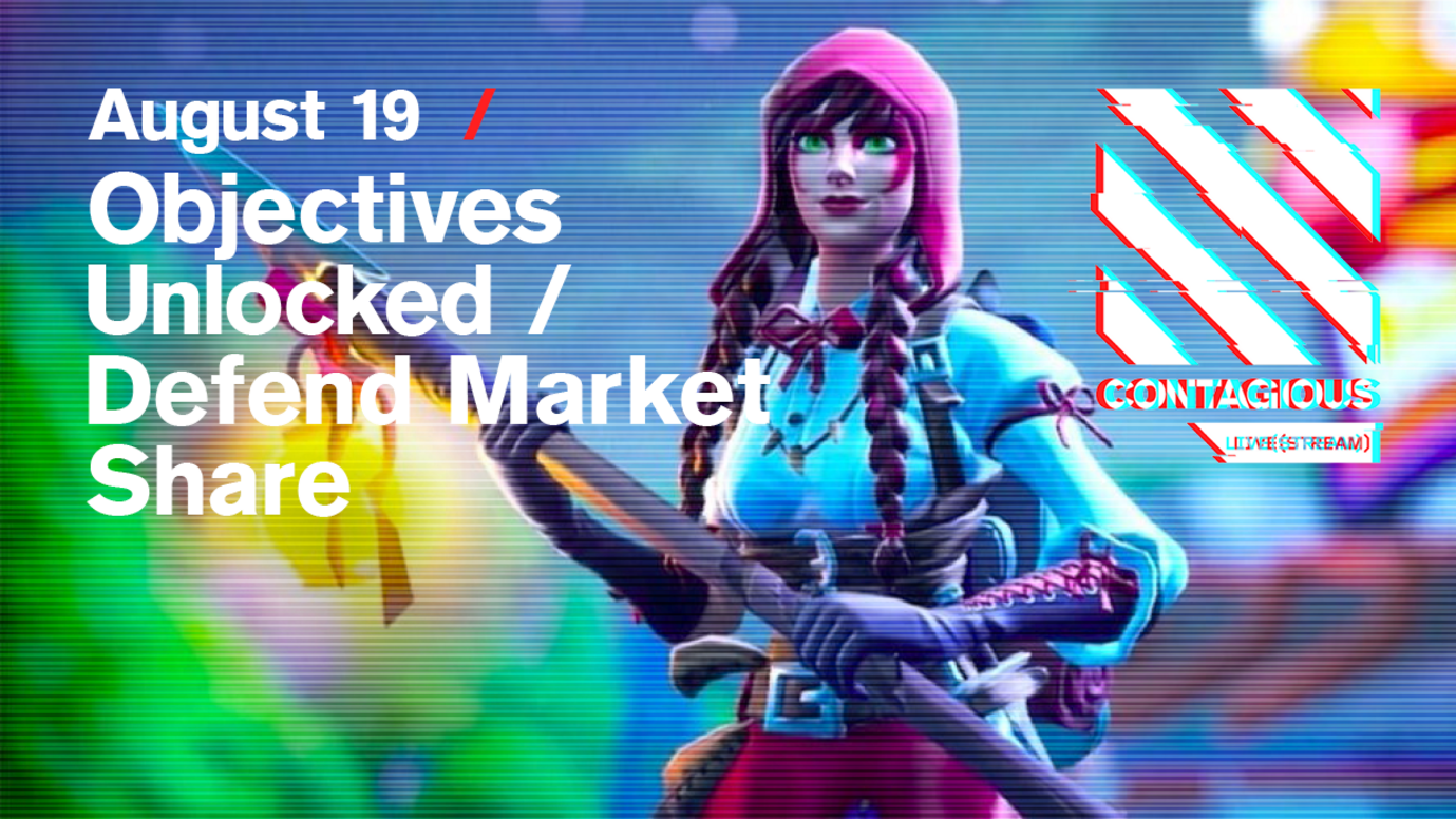 Header image for article Objectives Unlocked / Defend Market Share: Free live stream