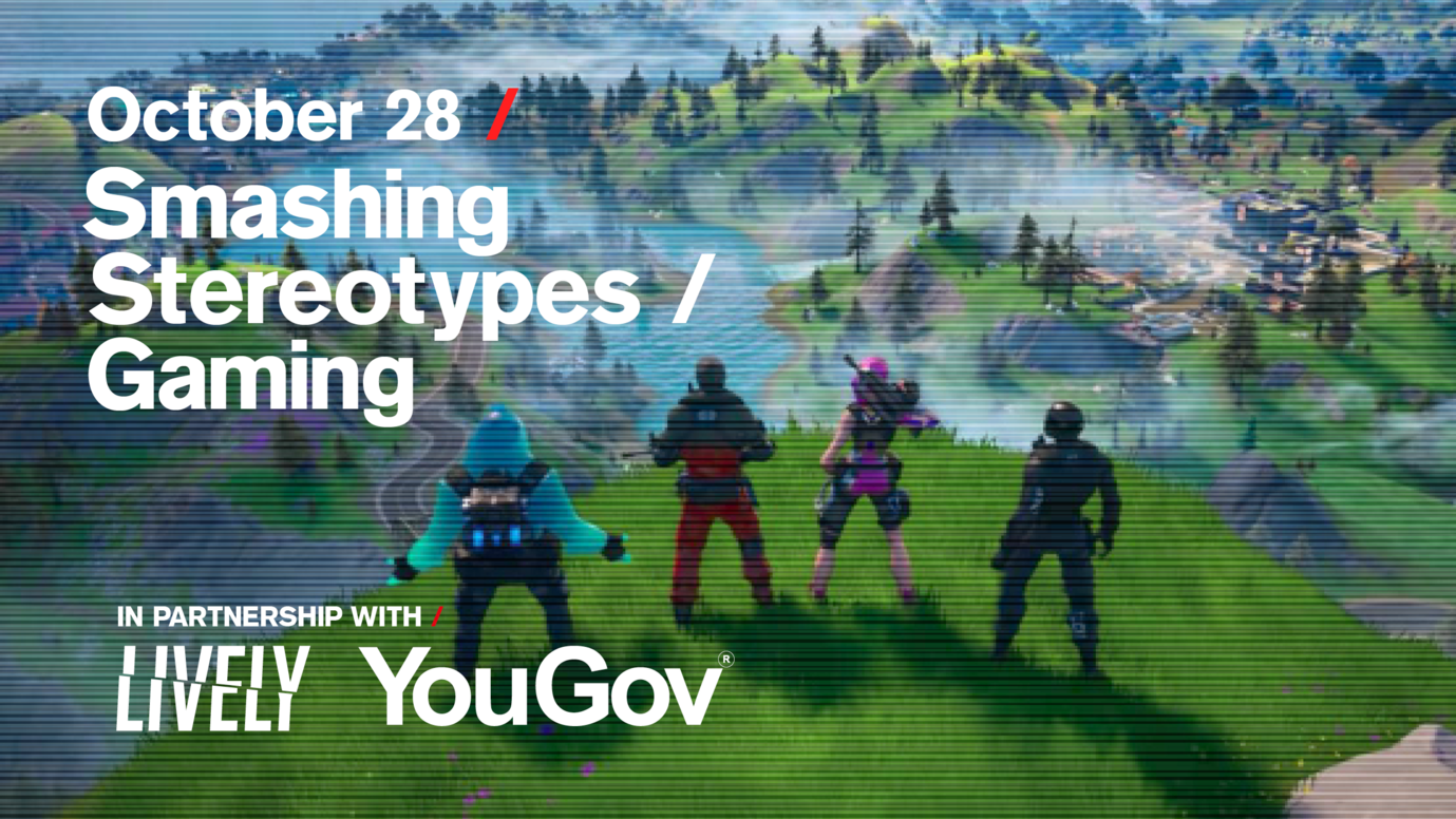 Header image for article Smashing Stereotypes / Gaming: Free live stream