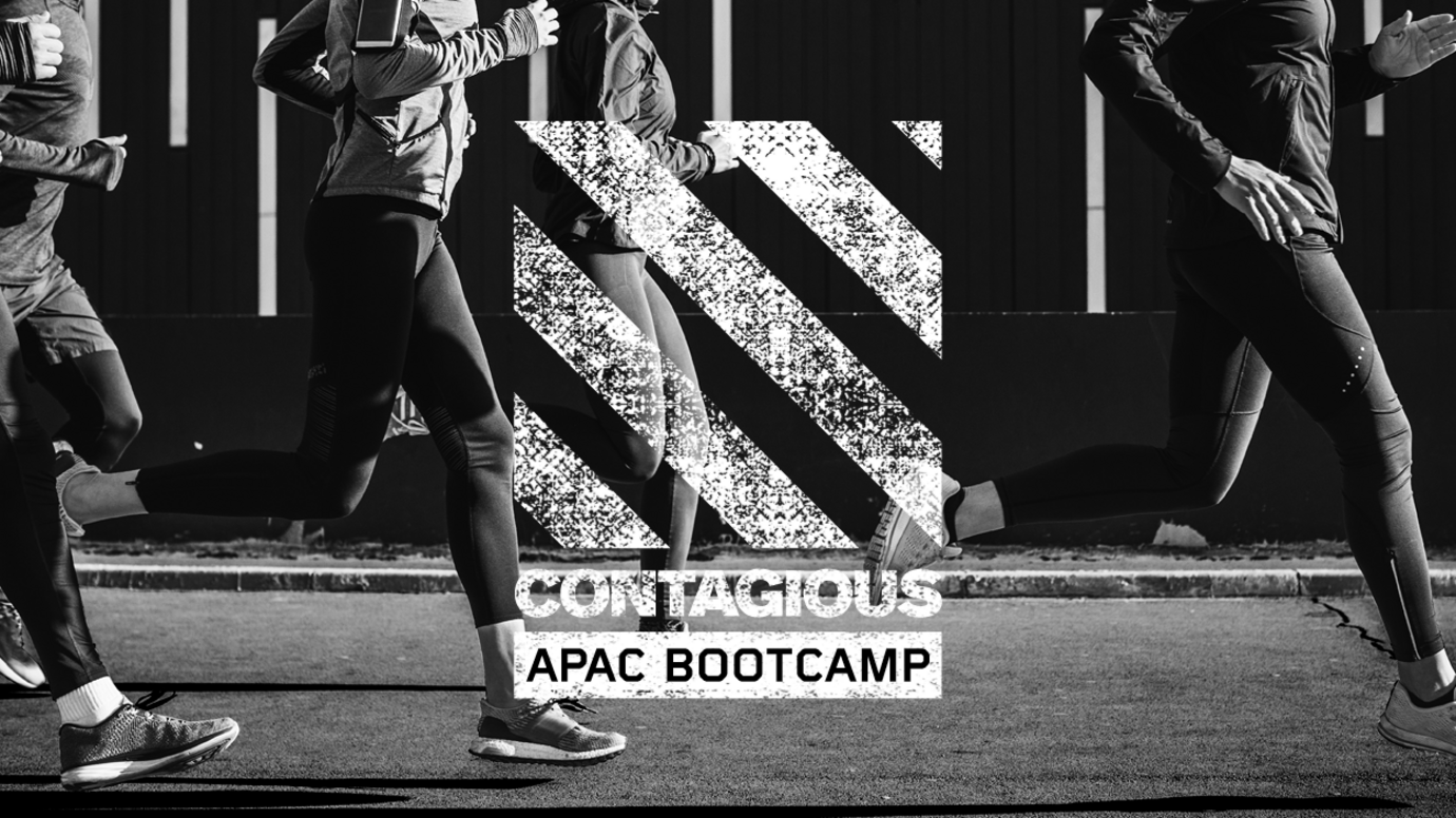 Header image for article Contagious APAC Bootcamp: Active I/O user registration