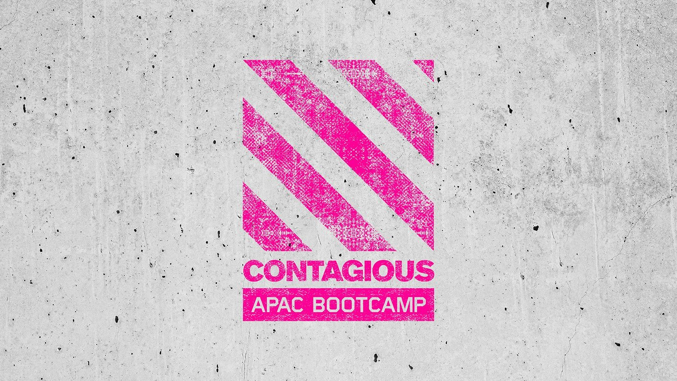 Header image for article Contagious Bootcamp APAC 2021