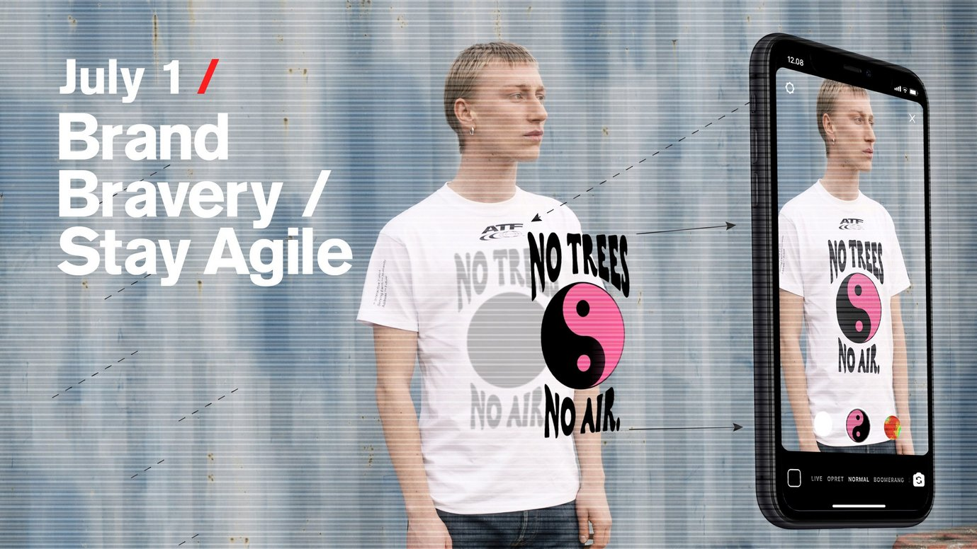 Header image for article Brand Bravery / Stay Agile: Free live stream