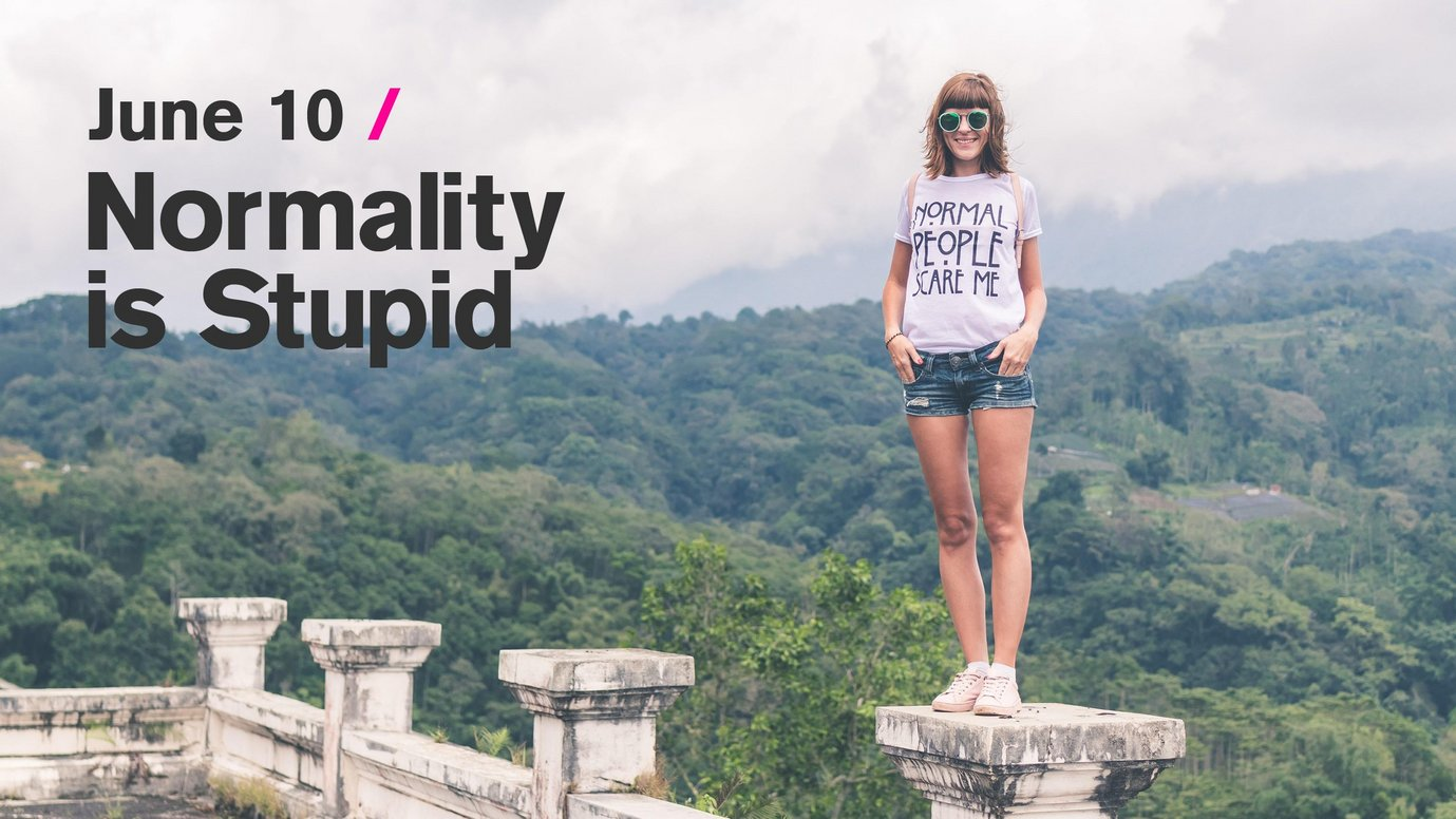 Header image for article Normality is Stupid: How to Incubate Inclusion, Innovation & Creativity