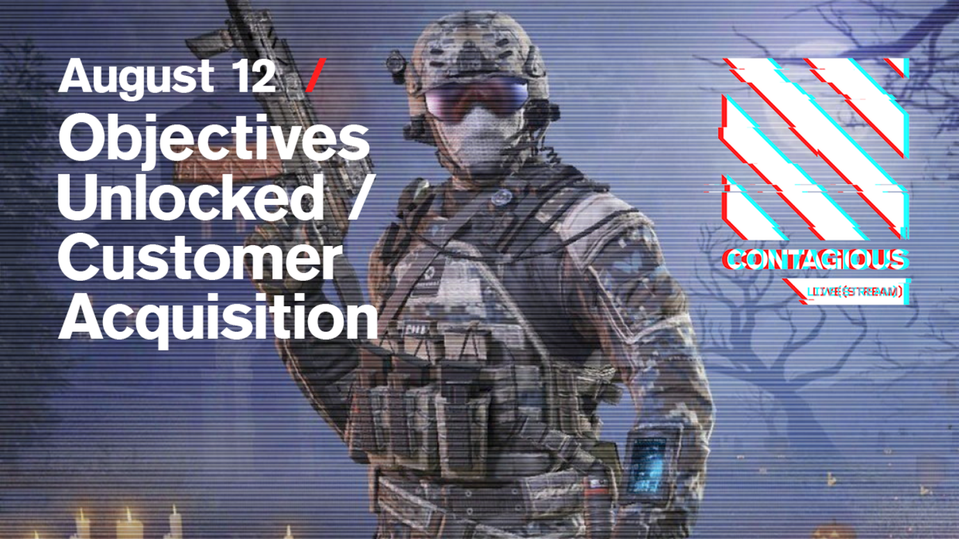Header image for article Objectives Unlocked / Customer Acquisition: Free live stream