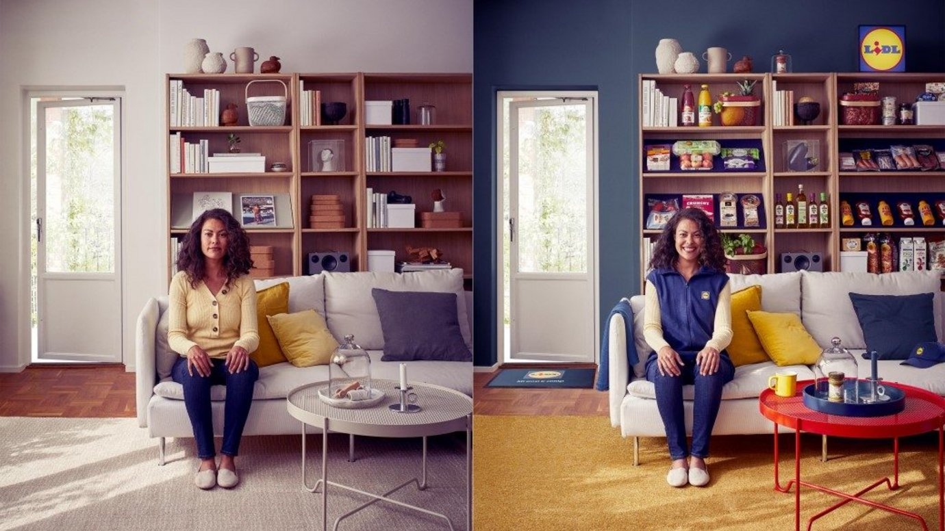Header image for article Lidl infiltrates Swedish homes with free food and branded merchandise