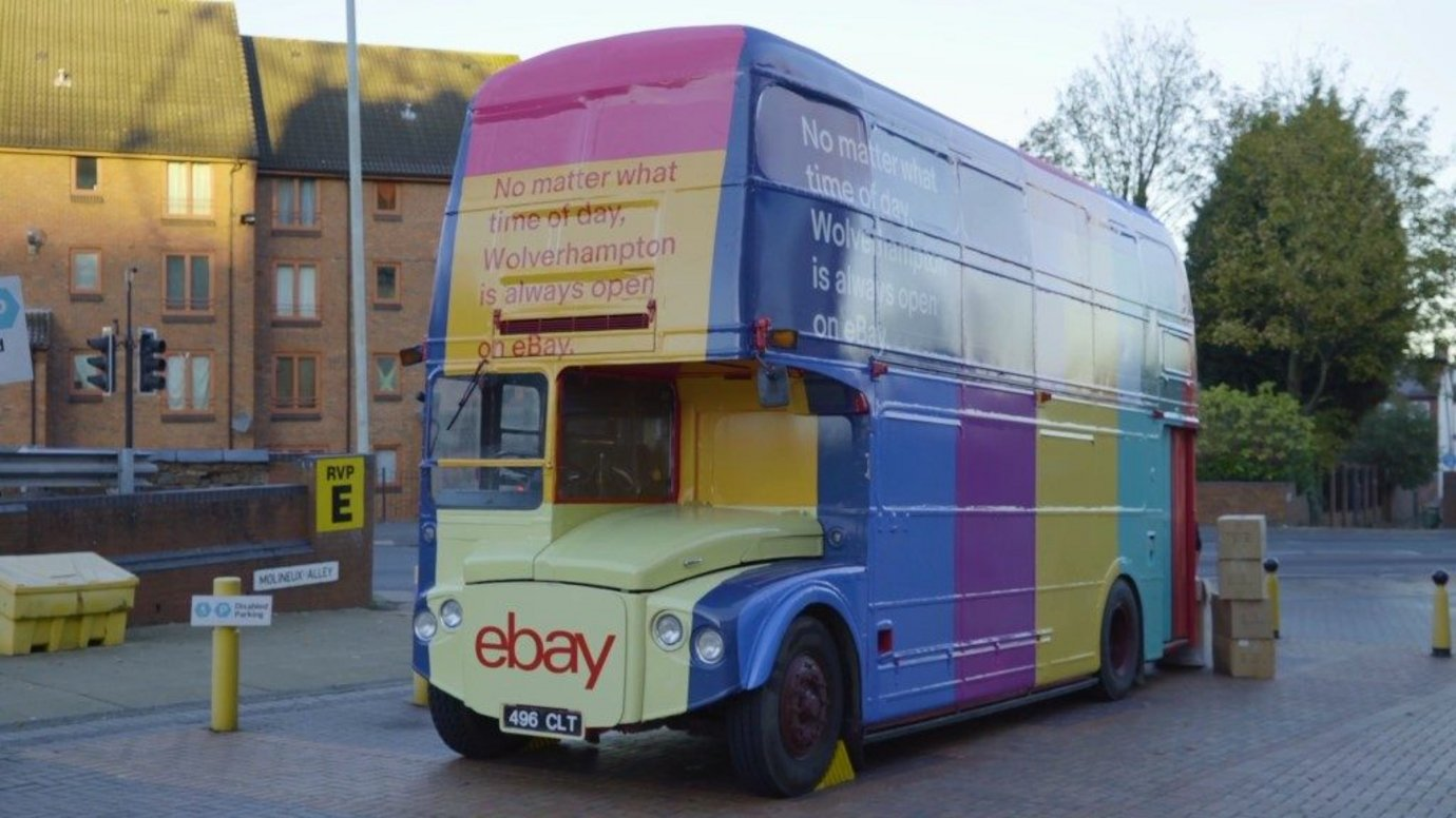 Header image for article EBay offers ecommerce lessons in Retail Revival campaign