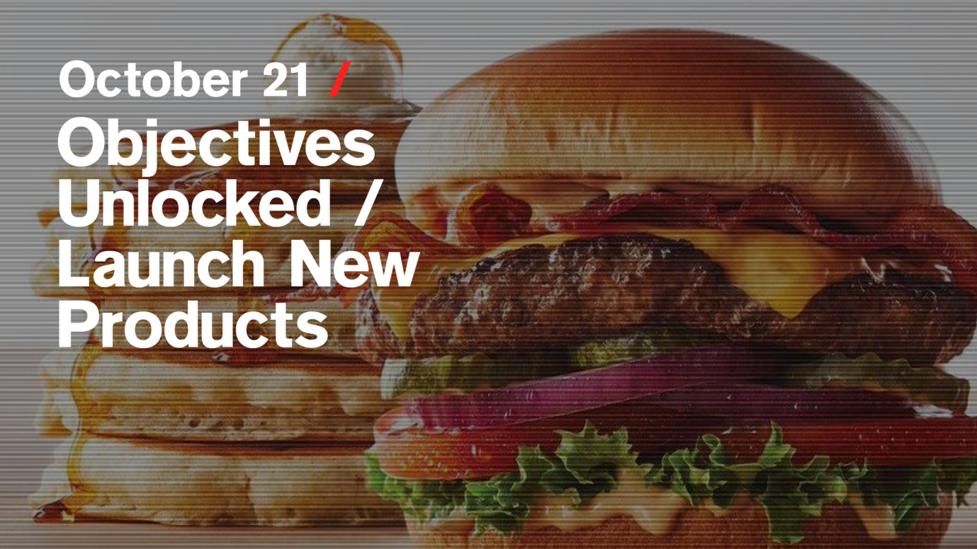 Header image for article Objectives Unlocked / Launch New Products: Free live stream