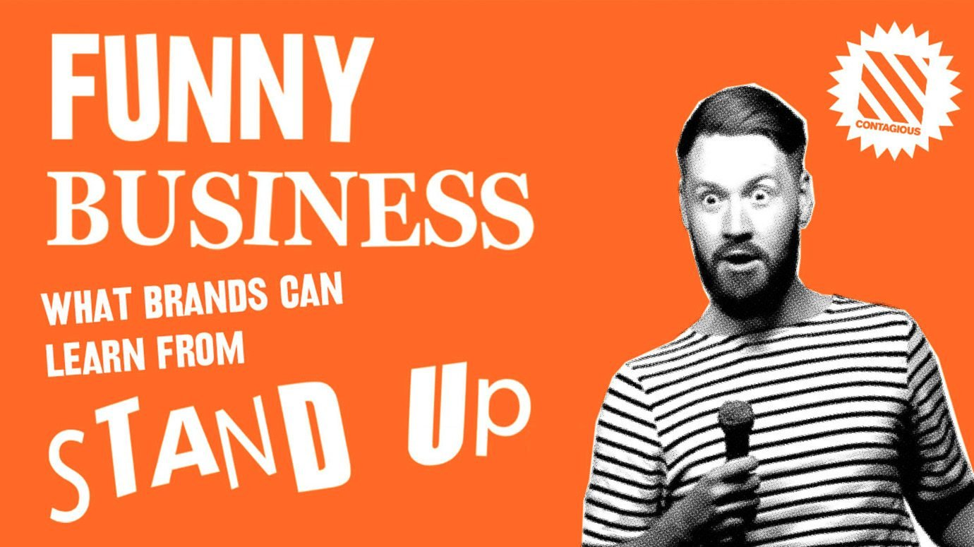Header image for article Funny business: what brands can learn from stand-up comedy