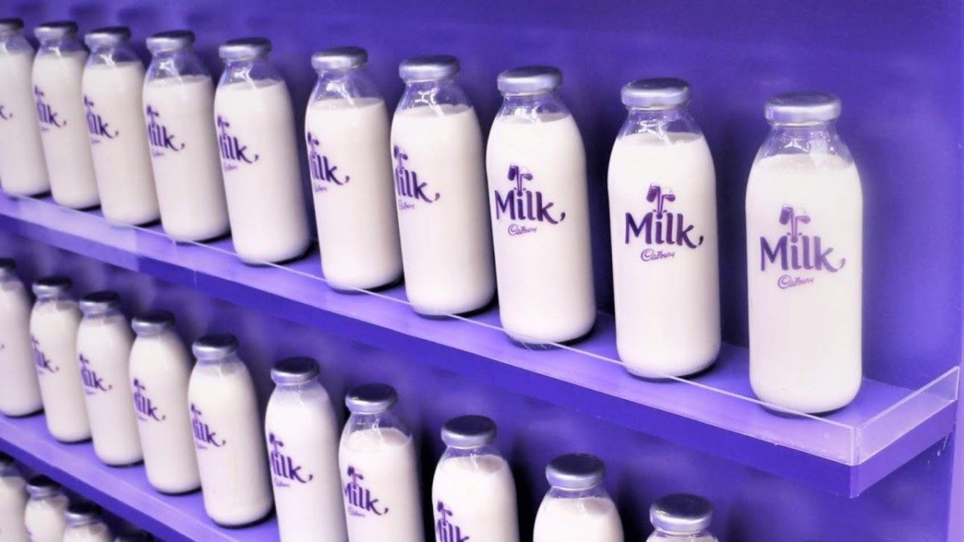 Header image for article Cadbury ditches 'glass and a half' of milk for generosity campaign