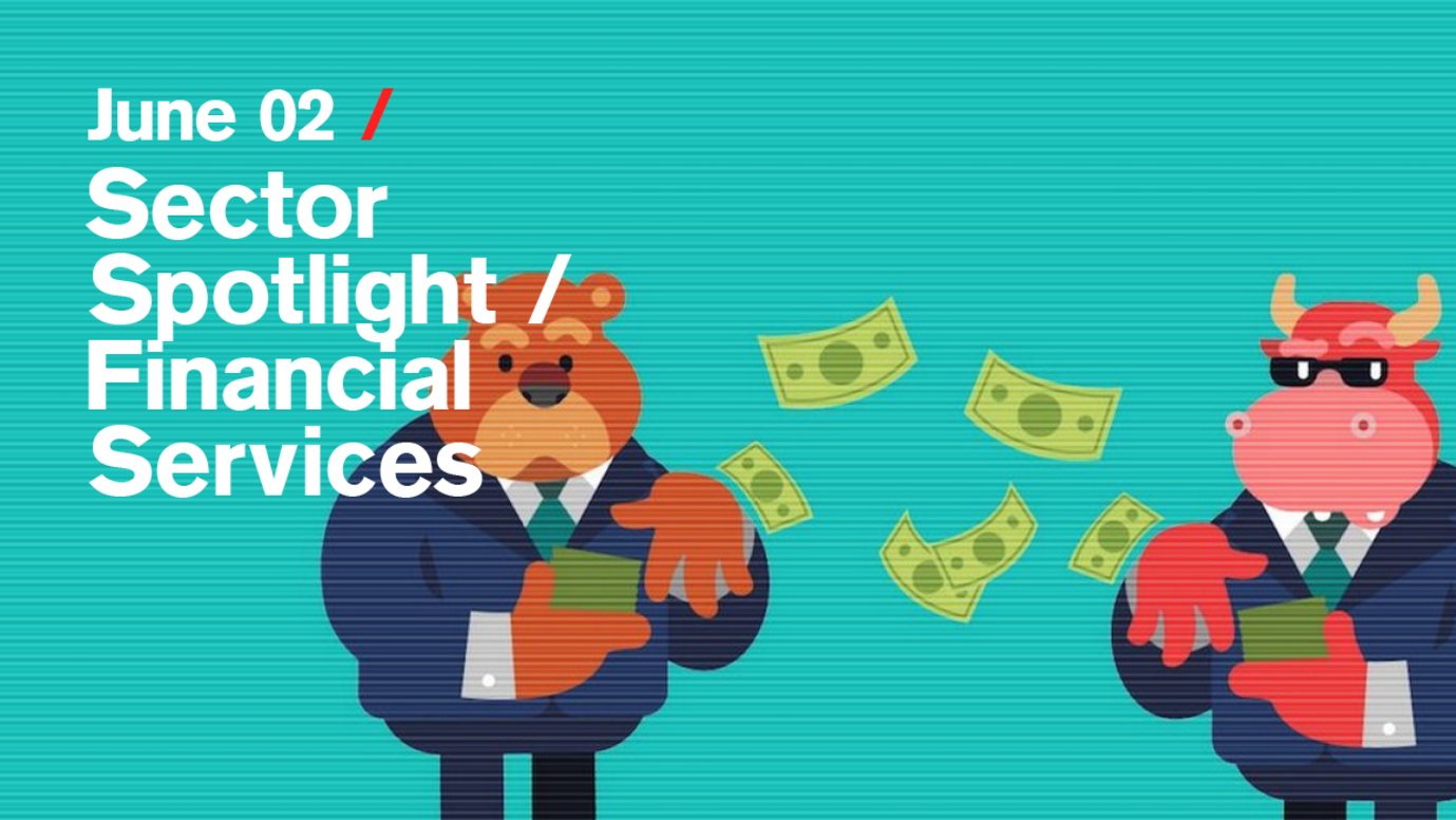 Header image for article Sector Spotlight / Financial Services: Free live stream