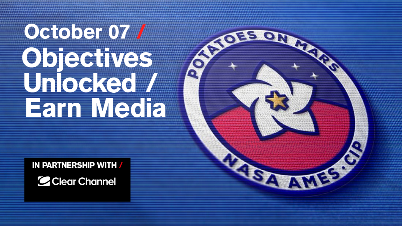Header image for article Objectives Unlocked / Earn Media: Free live stream