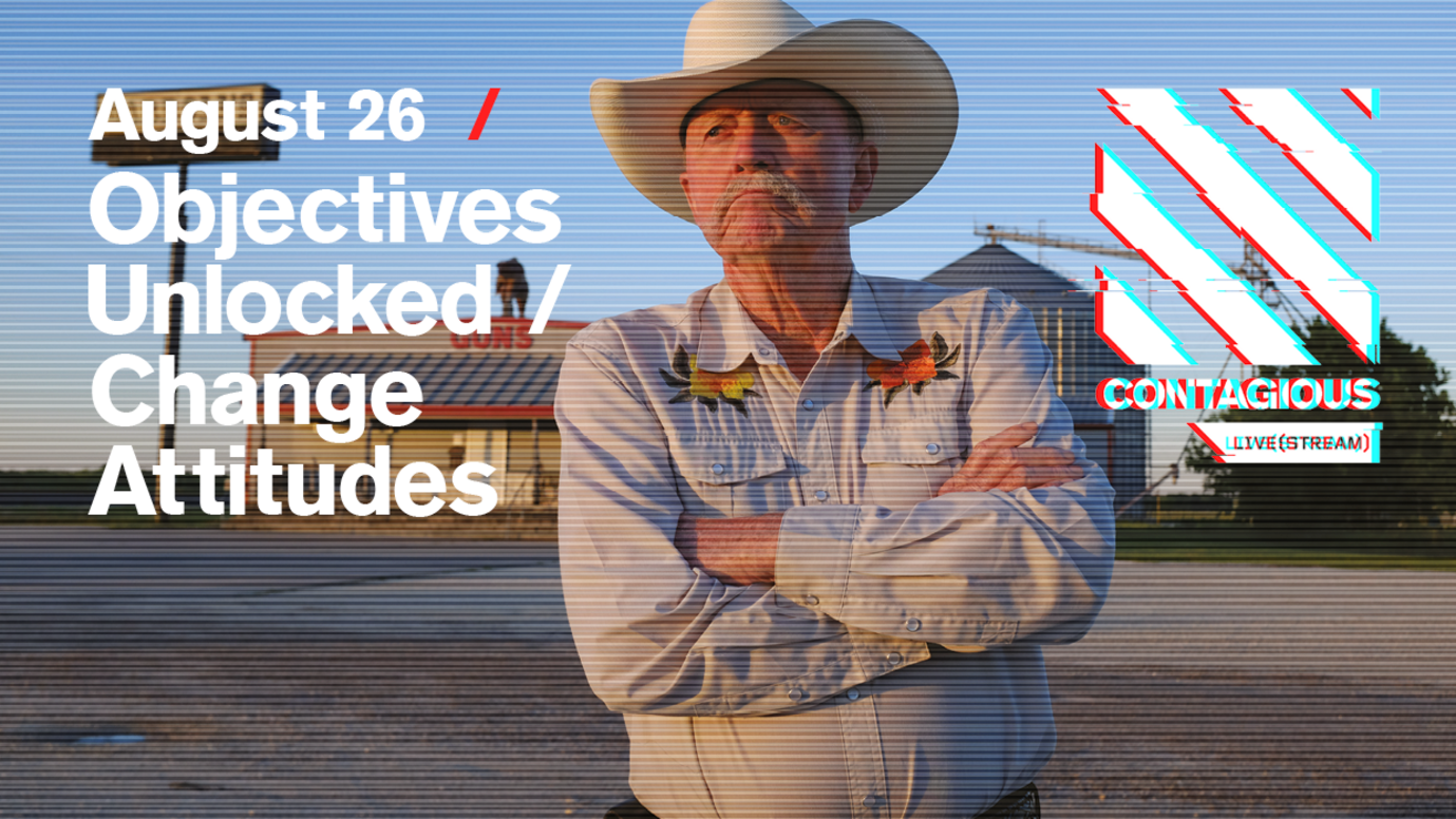 Header image for article Objectives Unlocked / Change Attitudes: Free live stream