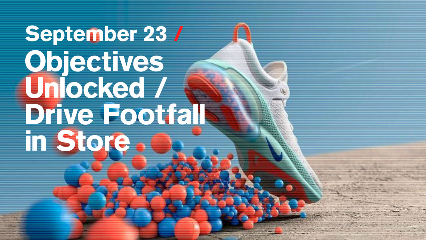Header image for article Objectives Unlocked / Drive Footfall in Store: Free live stream