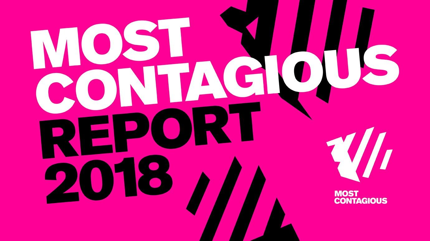 Header image for article The Most Contagious Report 2018