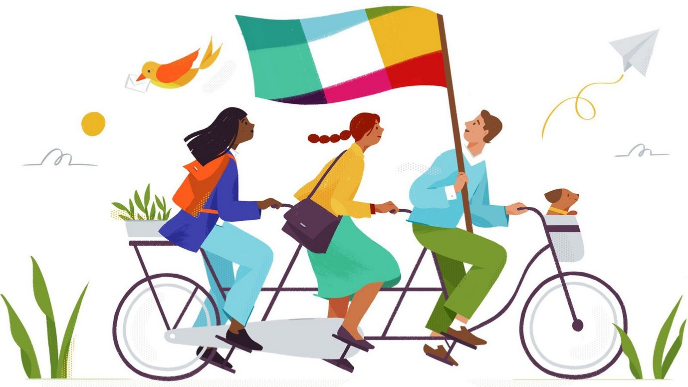 Header image for article Slack's Editorial Soul: Anna Pickard on Writing the Brand Experience