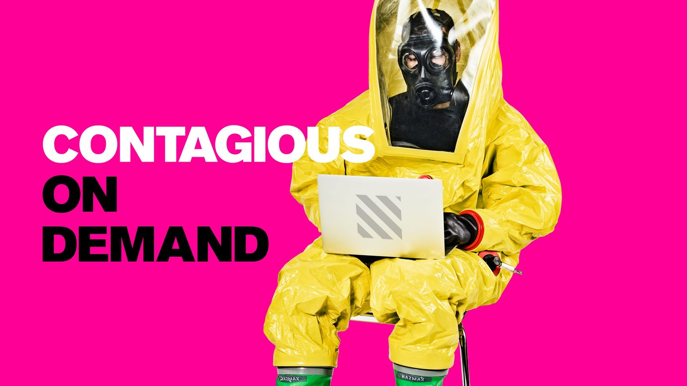 Header image for article Introducing... Contagious on Demand