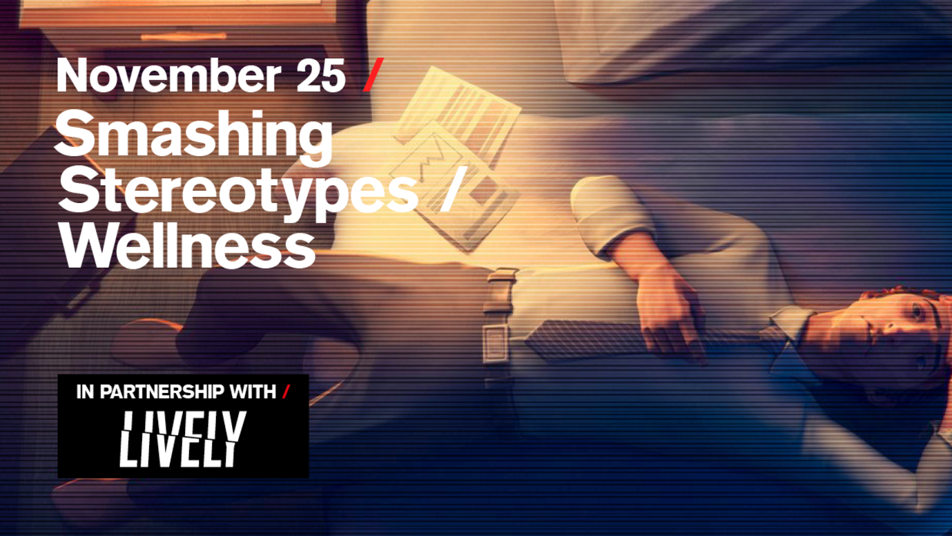 Header image for article Smashing Stereotypes / Wellness: Free live stream