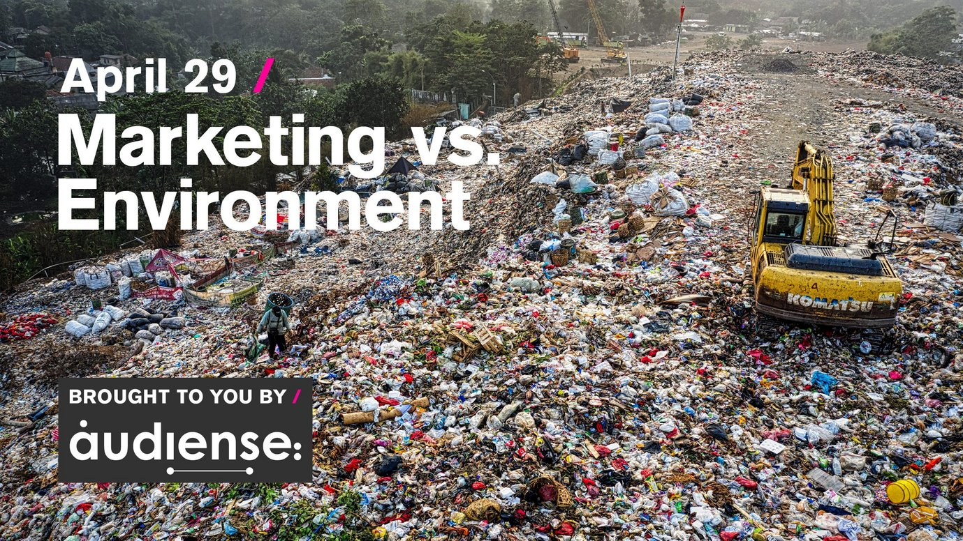 Header image for article Marketing vs. Environment: Free Livestream session