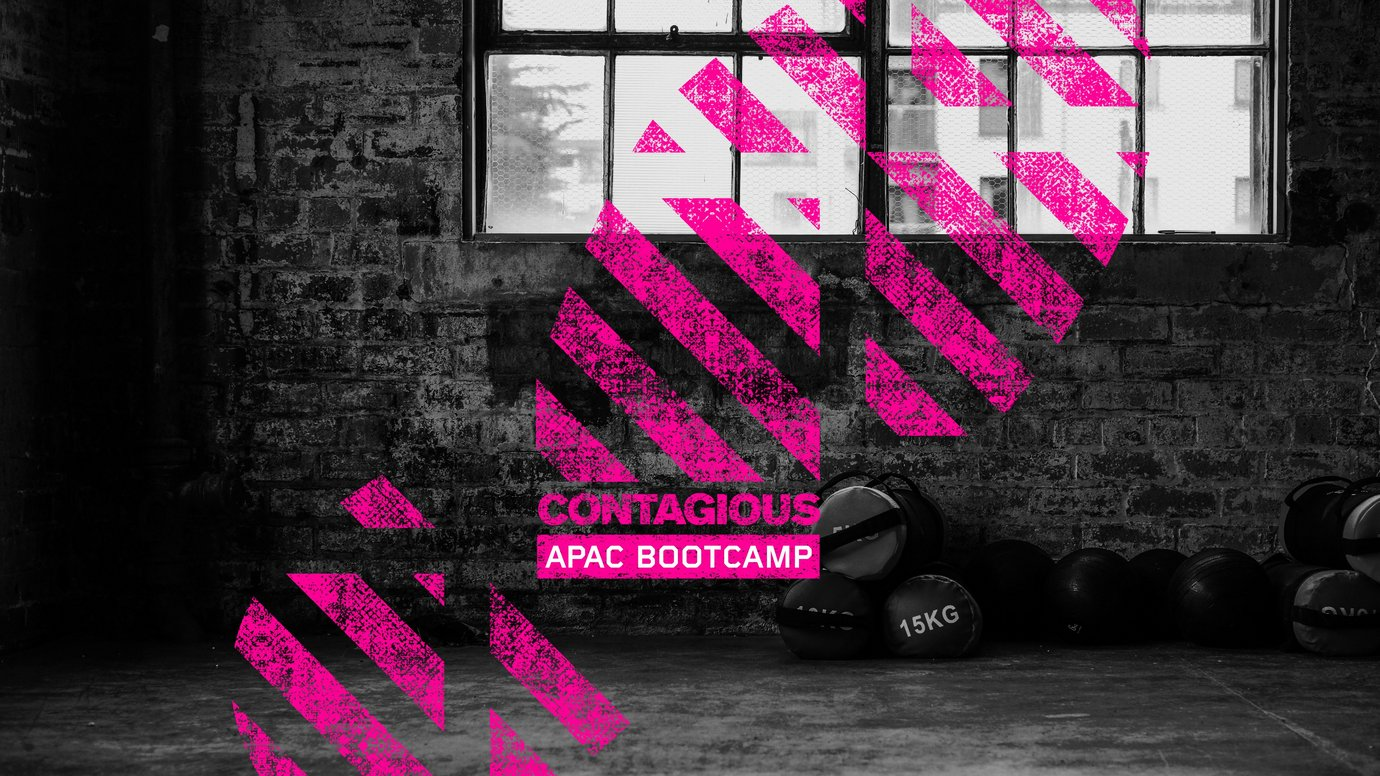 Header image for article Contagious APAC Bootcamp 2020