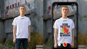 Carlings makes AR shirt for eco-and-style-conscious protest generation