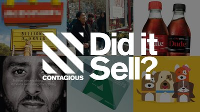 Did It Sell? A free results report from Contagious