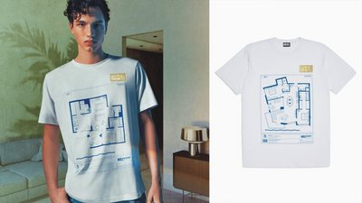 Diesel makes obscenely priced T-shirts to promote real estate venture